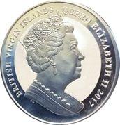 1 Dollar - Elizabeth II (Pégase) – avers