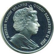 1 Dollar - Elizabeth II (Princesse Charlotte) – avers