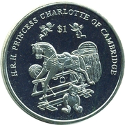 1 Dollar - Elizabeth II (Princesse Charlotte) – revers