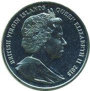 1 Dollar - Elizabeth II (Queen Elizabeth II is the reigning monarch of Great Britain) – avers