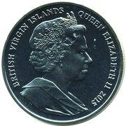 1 Dollar - Elizabeth II (475th Anniversary of sir Francis Drake) – avers