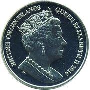 1 Dollar - Elizabeth II (Lemon shark) – avers