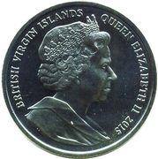 1 Dollar - Elizabeth II (Flamingo) – avers