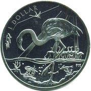 1 Dollar - Elizabeth II (Flamingo) – revers