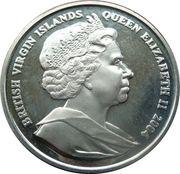 1 Dollar - Elizabeth II 4th portrait; 2004 Athens Olympics - Chariot -  avers