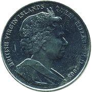 1 Dollar - Elizabeth II (Queen Mary I Tudor) – avers