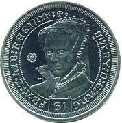 1 Dollar - Elizabeth II (Queen Mary I Tudor) – revers