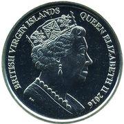 1 Dollar - Elizabeth II (Rugby) – avers