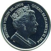 1 Dollar - Elizabeth II (Olympic - Golf) – avers