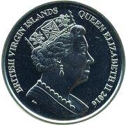 1 Dollar - Elizabeth II (Olympic - Triathlon) – avers
