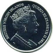 1 Dollar - Elizabeth II (Olympic - Beach volleyball) – avers