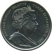 1 Dollar - Elizabeth II (4th portrait; Golden Jubilee) – avers