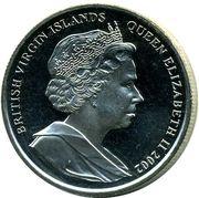 1 Dollar - Elizabeth II (Queen Mother) – avers