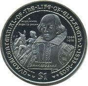 1 Dollar - Elizabeth II () -  revers