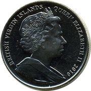 1 Dollar - Elizabeth II (2010 FIFA World Cup South Africa ) – avers
