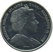 1 Dollar - Elizabeth II (Napoleon and Nelson) – avers
