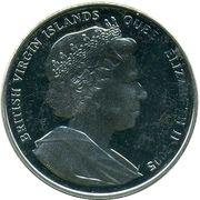 1 Dollar - Elizabeth II (Nelson's favorite Ships) – avers