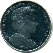 1 Dollar - Elizabeth II (The Chase to the West Indies - 1805) – avers