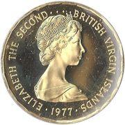 100 dollars - Elizabeth II (2eme effigie - Jubilé d'argent) – avers
