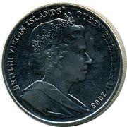1 Dollar - Elizabeth II (King Edward III) – avers