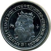 1 Dollar - Elizabeth II (King Edward III) – revers