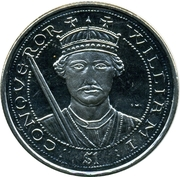1 Dollar - Elizabeth II (Guillaume le Conquérant) – revers