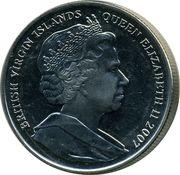 1 Dollar - Elizabeth II (Reine Elizabeth I) – avers