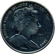 1 Dollar - Elizabeth II (King Henry VII) – avers