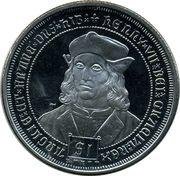 1 Dollar - Elizabeth II (King Henry VII) – revers