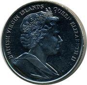 1 Dollar - Elizabeth II (Queen Anne) – avers