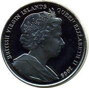 1 Dollar - Elizabeth II (Britain) – avers
