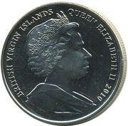 1 Dollar - Elizabeth II (Fencing) – avers