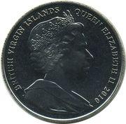 1 Dollar - Elizabeth II (Soccer) – avers