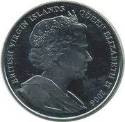 1 Dollar - Elizabeth II (King George VI) – avers