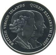 1 Dollar - Elizabeth II (The Giving Away) – avers