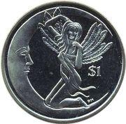 1 Dollar - Elizabeth II (Juno of Februata) – revers