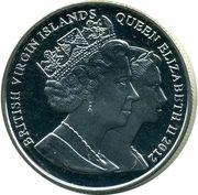 1 Dollar - Elizabeth II (Duke of Cambridge) – avers