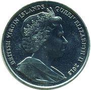 1 Dollar - Elizabeth II (Heart of roses) – avers