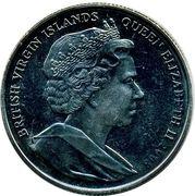1 Dollar - Elizabeth II (King Cnut) – avers