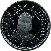 1 Dollar - Elizabeth II (King Cnut) – revers