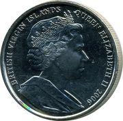 1 Dollar - Elizabeth II (Roi Edouard VIII) – avers