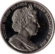 1 Dollar - Elizabeth II (3 Dolphins) – avers