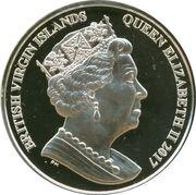 10 Dollars - Elizabeth II (4ème portrait ; Pégase) – avers
