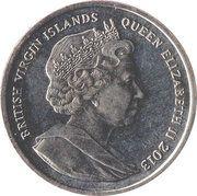 1 Dollar - Elizabeth II (Peter the Great) – avers