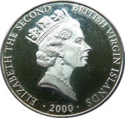 20 Dollars Elizabeth II Roche Brasiliano – avers