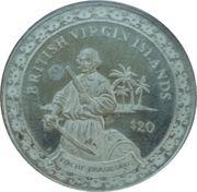 20 Dollars Elizabeth II Roche Brasiliano – revers