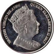 1 Dollar (Makaire bleu) – avers