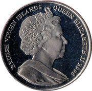 1 Dollar (Coronation of Queen Elizabeth I – avers