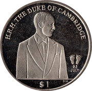 The Duke of Cambridge – revers