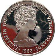 10 Dollars - Elizabeth II (30ème anniversaire de couronnement) – avers